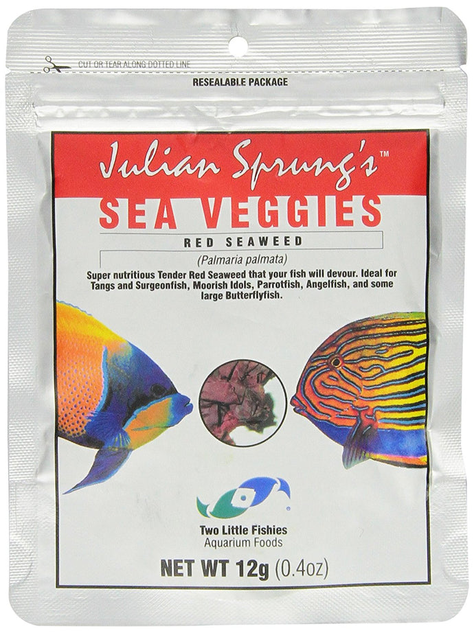 Two Little Fishies Sea Veg-Red Seaweed, 0.4-Ounce