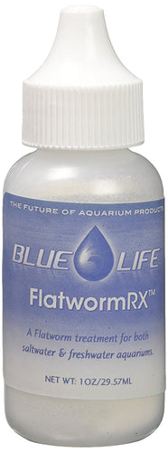 Flatworm Rx:Benefits:Flatworm Rx is an exceptionally fast and effective treatment for Flatworms in saltwater aquariums.