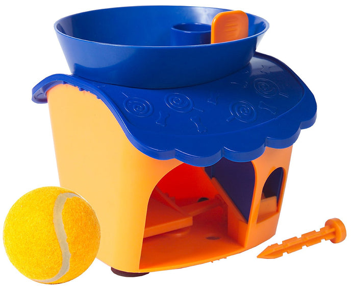 Pet Buddies PB4500 Pooch Treat House Interactive Treat Dispe