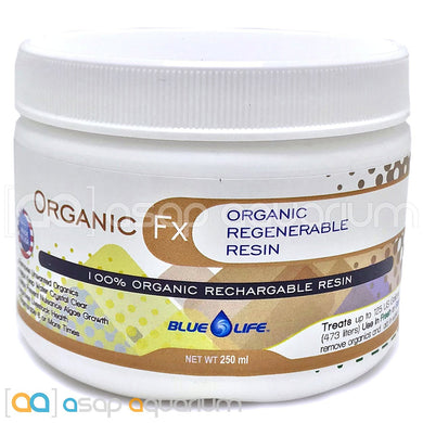 Organic FX Advanced Regenerable Organic Scavenger Resin. Removes Unwanted Organics. Reduces Creation of Nitrates.