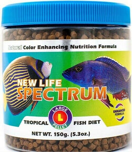 New Life Spectrum Lg Fish Sinking 3mm Pellet