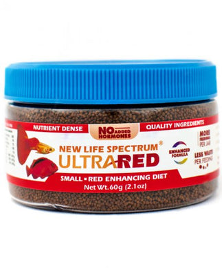 New Life Spectrum Ultra Red Small Pellet