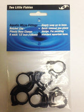 "Two Little Fishies 1/2"" Plastic Hose Clamp Set 6 pc"