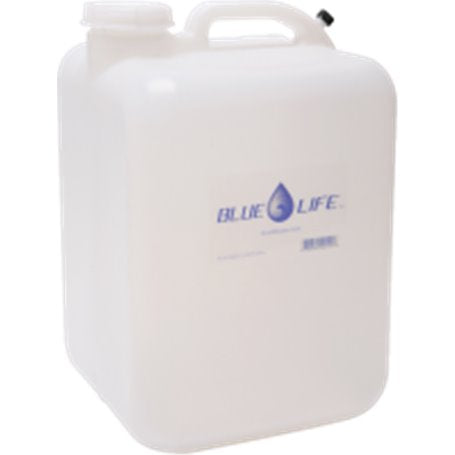 Blue Life Water Container Empty 5 gal.
