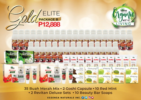 ORGANIKO - GOLD ELITE B  (DISTRIBUTORS KIT)