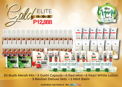 ORGANIKO - GOLD ELITE A (DISTRIBUTORS KIT)