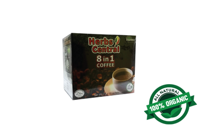Herbs Central 8 in 1 Coffee (1 Box x 10 Sachet)