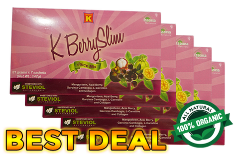 Kberry Slim - Super Sulit B (5 boxes)
