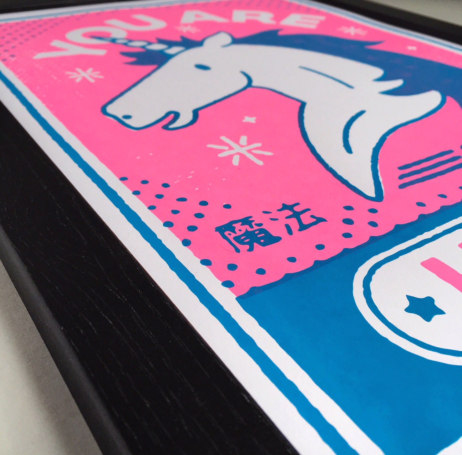 Unicorn A3 Screen Print