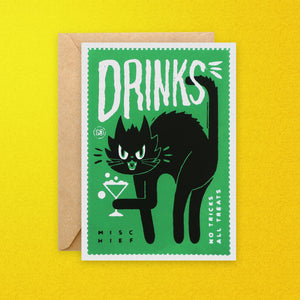 Drinks Celebration Greeting Card