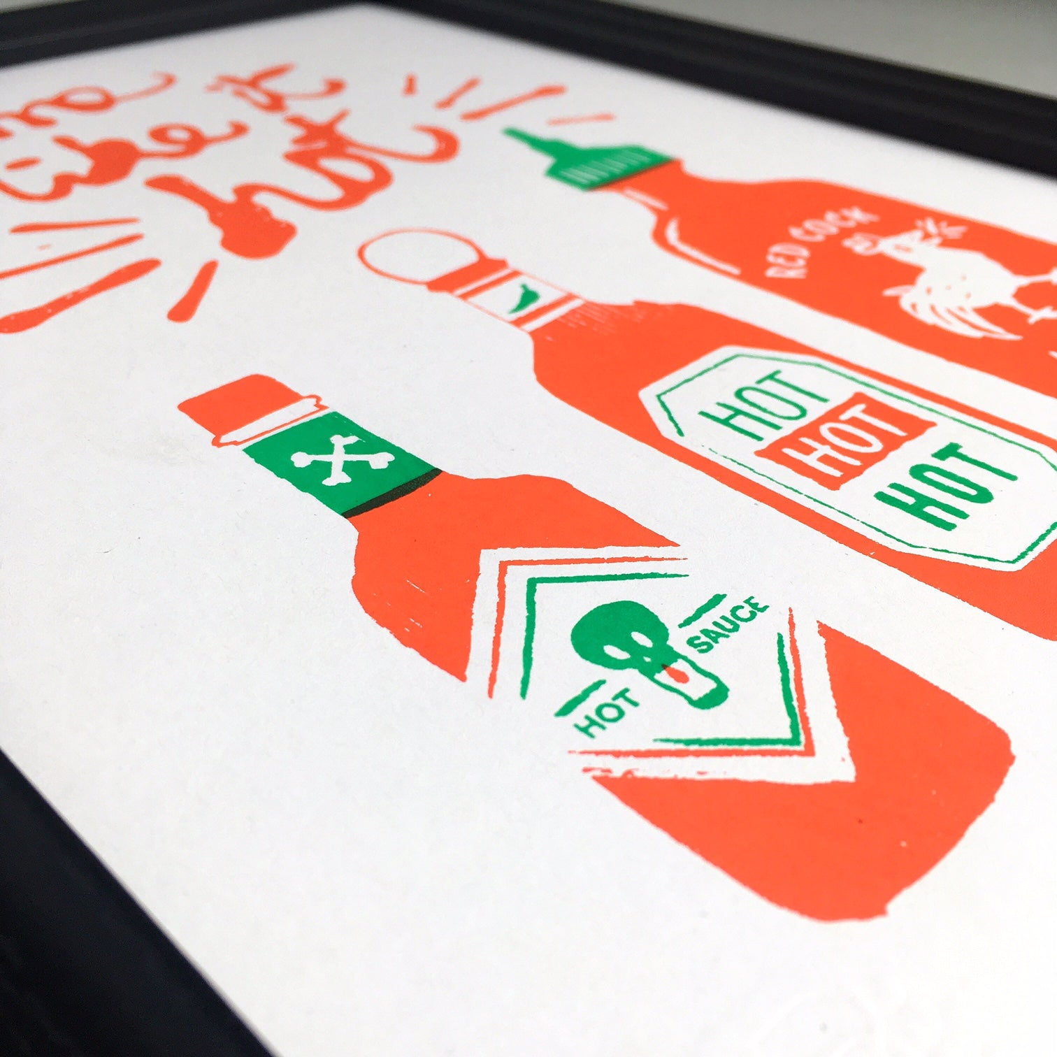 Hot Sauce A4 Screen Print