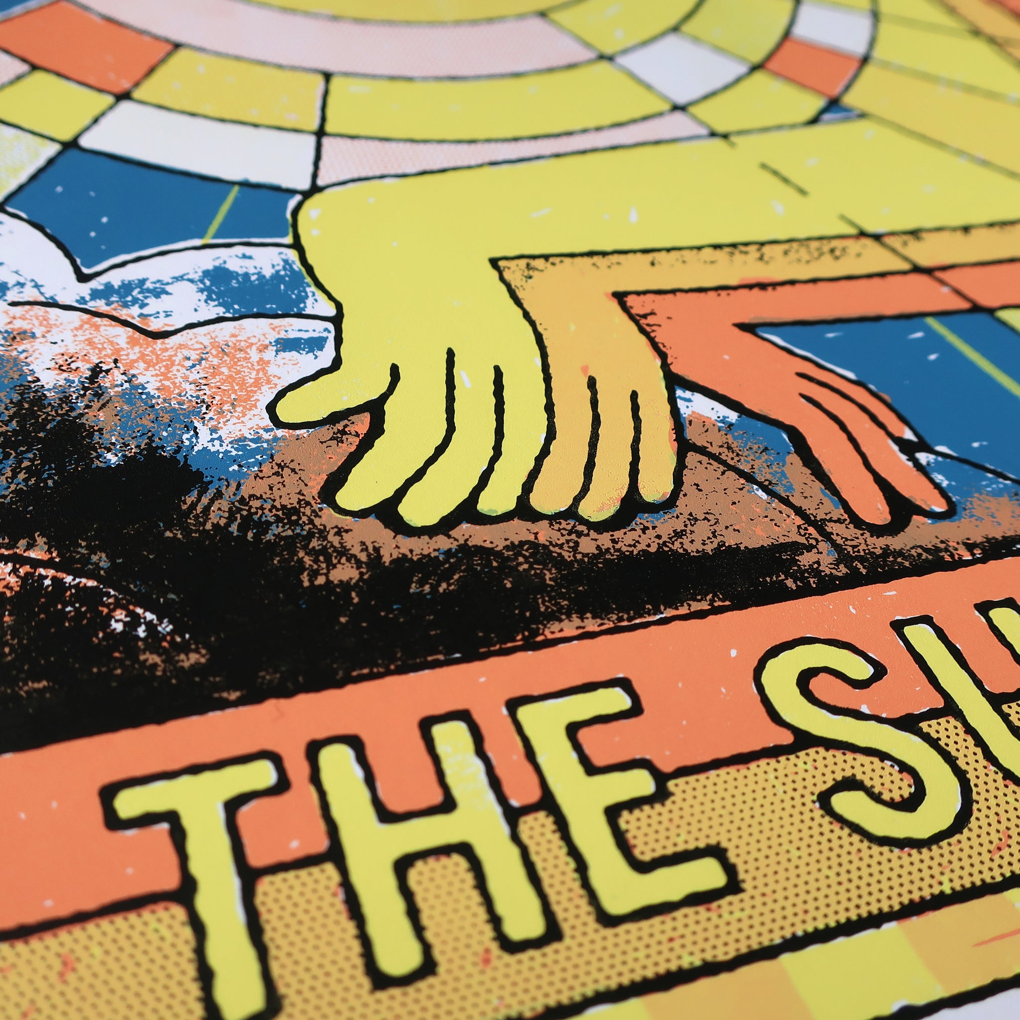 Let The Sunshine A3 Screen Print