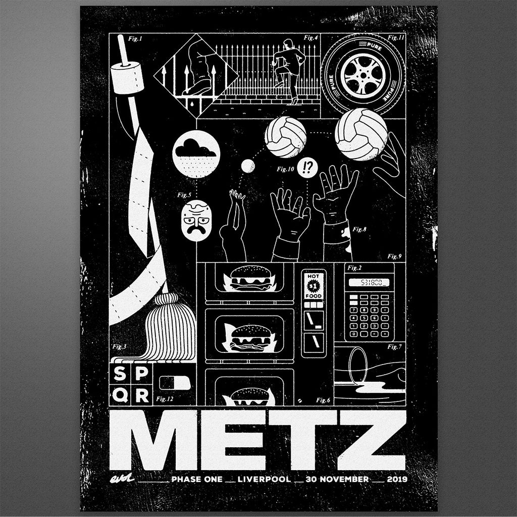 Metz Official screen printed poster