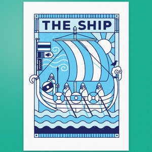 The Ship - Pub Name Prints