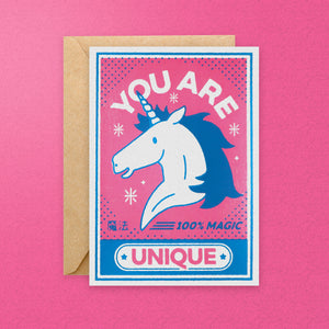 You Are Unique Greeting Card