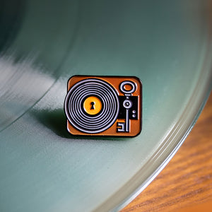 Music is the Key Pin Badge