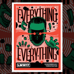 Everything Everything Gig Poster