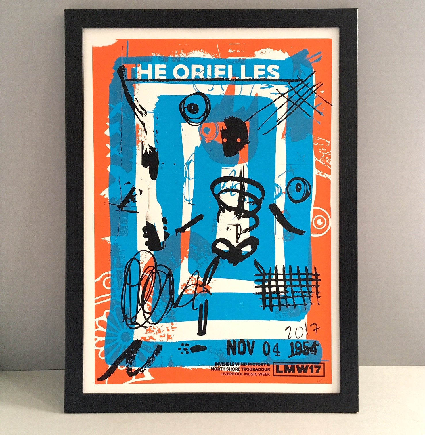 The Orielles Gig Poster