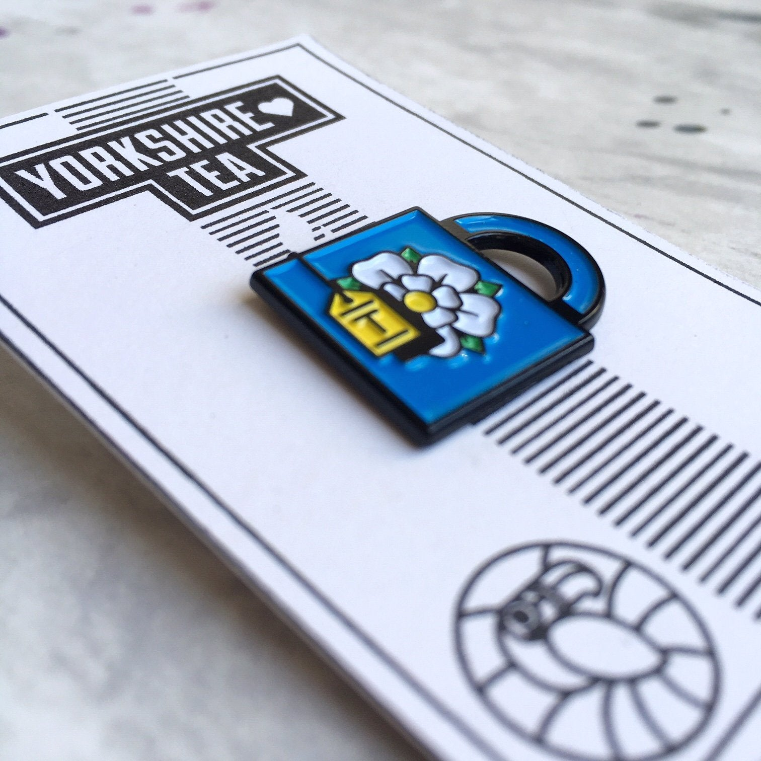 Yorkshire Tea Pin Badge