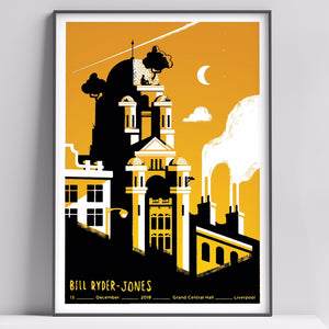 Bill Ryder Jones Liverpool Gig Poster