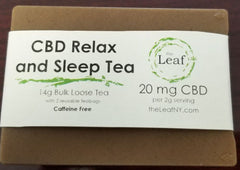 CBD Relax & Sleep Tea