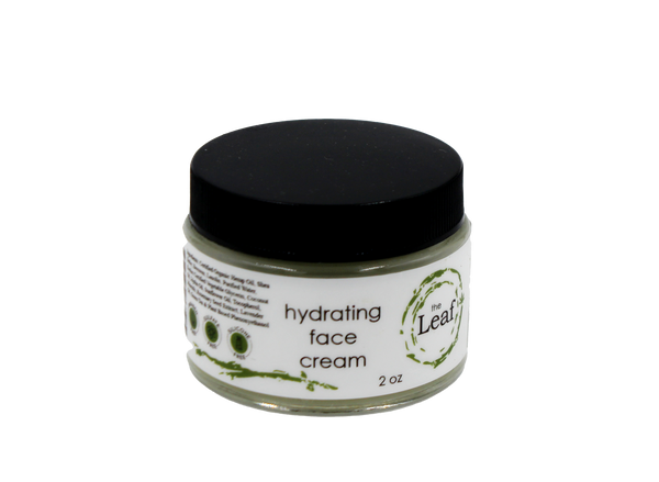 Hydrating Face Cream w/Hemp Seed Oil