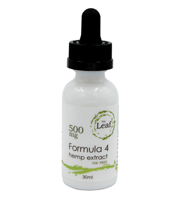 Hemp Oil Tincture 500 mg Formula 4