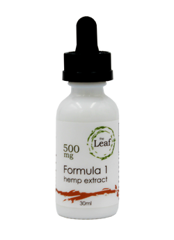 Hemp Oil Tincture 500 mg Formula 1