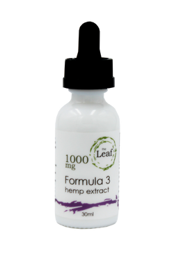 Hemp Oil Tincture 1000 mg Formula 3