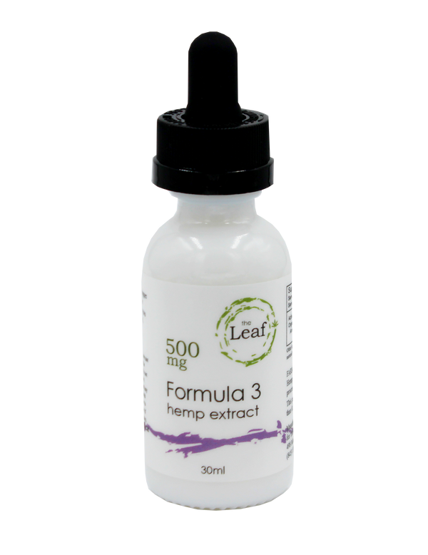 Hemp Oil Tincture 500 mg Formula 3