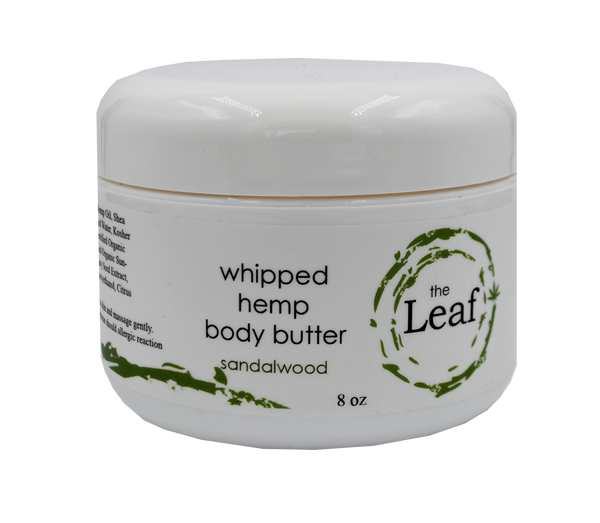 Whipped Body Butter w/Hemp Seed Oil - Sandalwood
