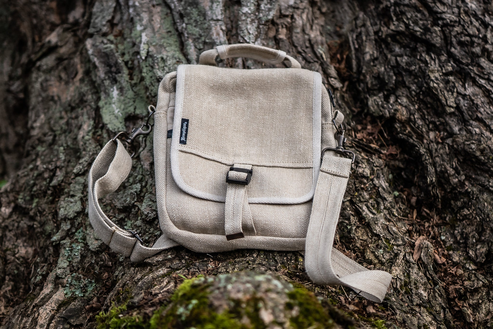 Hemp Fiber Tablet Bag