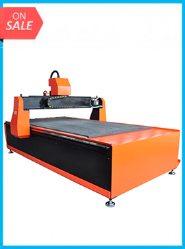 3KW Water Cooling Industry CNC Woodworking Router Vacuum Platform & DSP M-1325