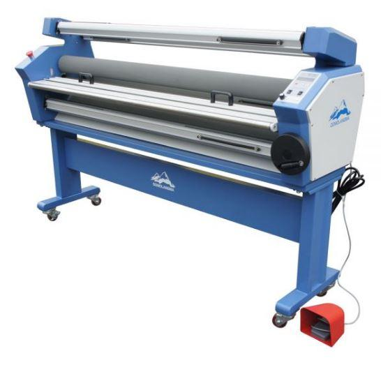 55in Full-auto Wide Format Cold Laminator, with Heat Assisted