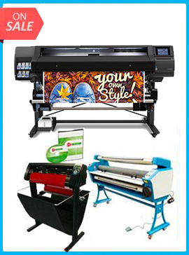 COMPLETE SOLUTION - Plotter HP Latex 560 - Refurbished - (1 Year Warranty) + 55