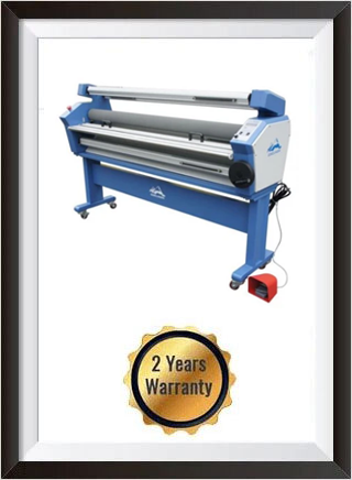 63in Full-auto Wide Format Cold Laminator, with Heat Assisted + 2 YEARS WARRANTY