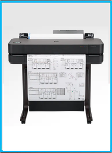"HP DesignJet T630 Large Format Wireless Plotter Printer - 24"", with Mobile Printing (5HB09A)"