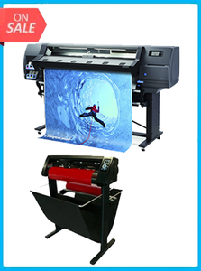 "HP Latex 315 54"" Printer - NEW + 53"" 3 ARMS CONTOUR CUT VINYL CUTTER W/ VINYLMASTER CUT SOFTWARE"