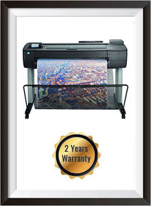 HP DesignJet T730 36-in Printer - Recertified + 2 Years Warranty