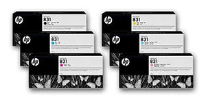 HP 831A Cyan Ink Cartridge 775ml for HP Latex 310, 315, 330, 335, 360, 365, 560 - CZ683A
