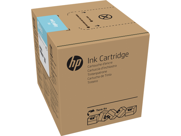 HP 872 3-liter Cyan Latex Ink Cartridge for R1000 -G0Z01A