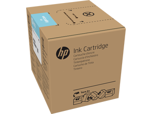 HP 872 3-liter Light Cyan Latex Ink Cartridge for R1000 - G0Z05A