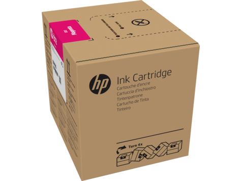 HP 872 3-liter Magenta Latex Ink Cartridge for R1000 - G0Z02A