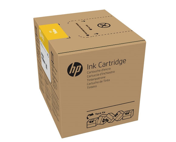 HP 872 3-liter Yellow Latex Ink Cartridge for R1000 - G0Z03A