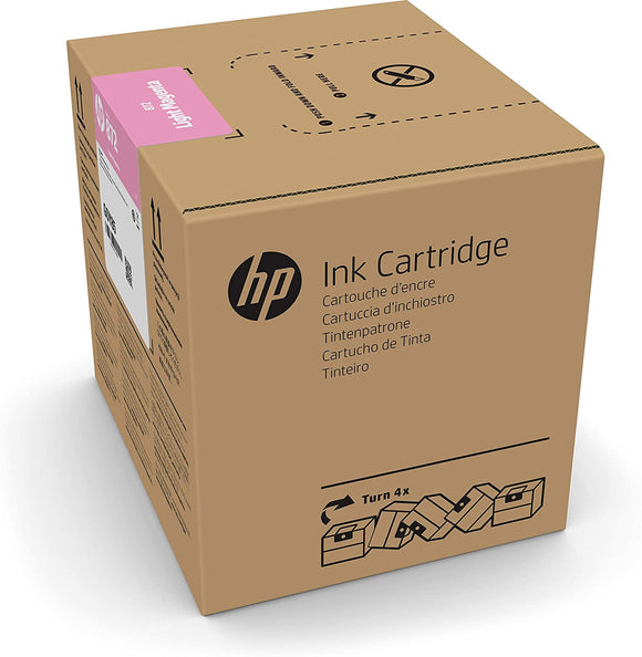 HP 872 3-liter Light Magenta Latex Ink Cartridge for R1000 - G0Z06A