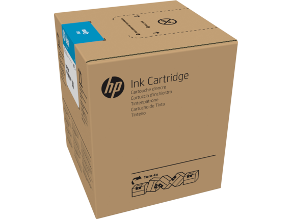 HP 882 5-liter Cyan Latex Ink Cartridge for R2000 - G0Z10A