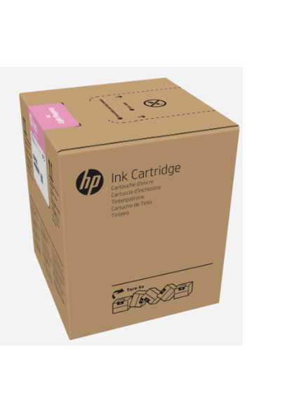 HP 882 5-liter Light Magenta Latex Ink Cartridge for R2000