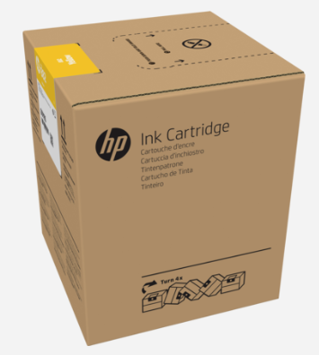 HP 882 5-liter Yellow Latex Ink Cartridge for R2000 - G0Z12A