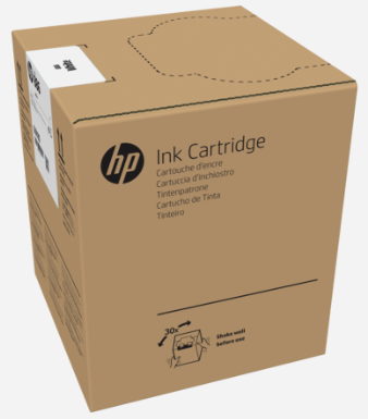 HP 886 3-liter White Latex Ink Cartridge for R1000/R2000 - G0Z09A