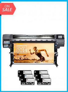 HP Designjet 360 Latex 64in Printer - Recertified - (90 Days Warranty) + Starter Supplies